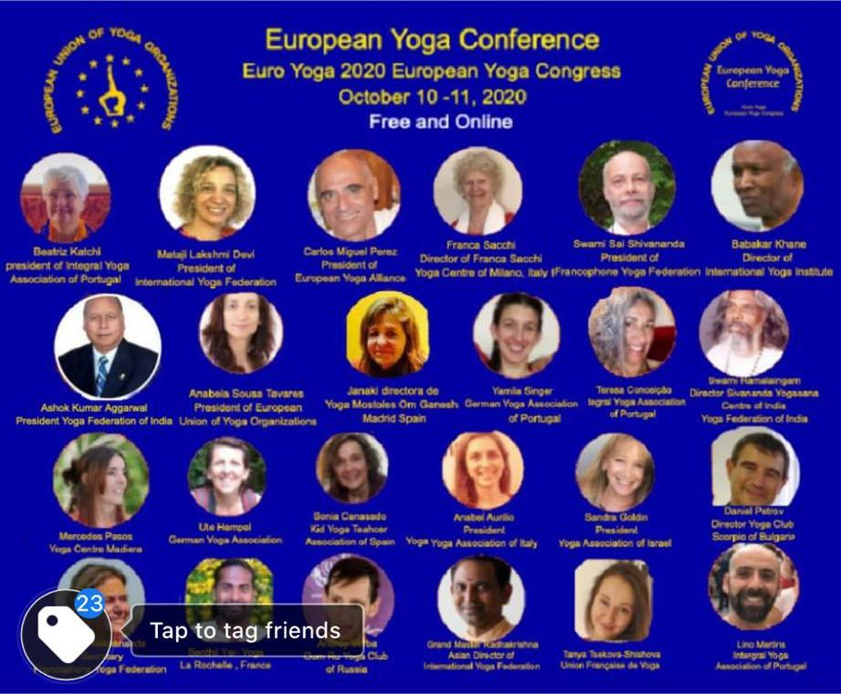 european yoga conference 2020
